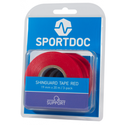 Sportdoc Sock Tape Red (x3)